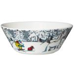 by Arabia Moomin bowl 15cm Snow horse