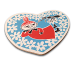 OPTO Pot Coaster Shaped -Heart Little My Blue