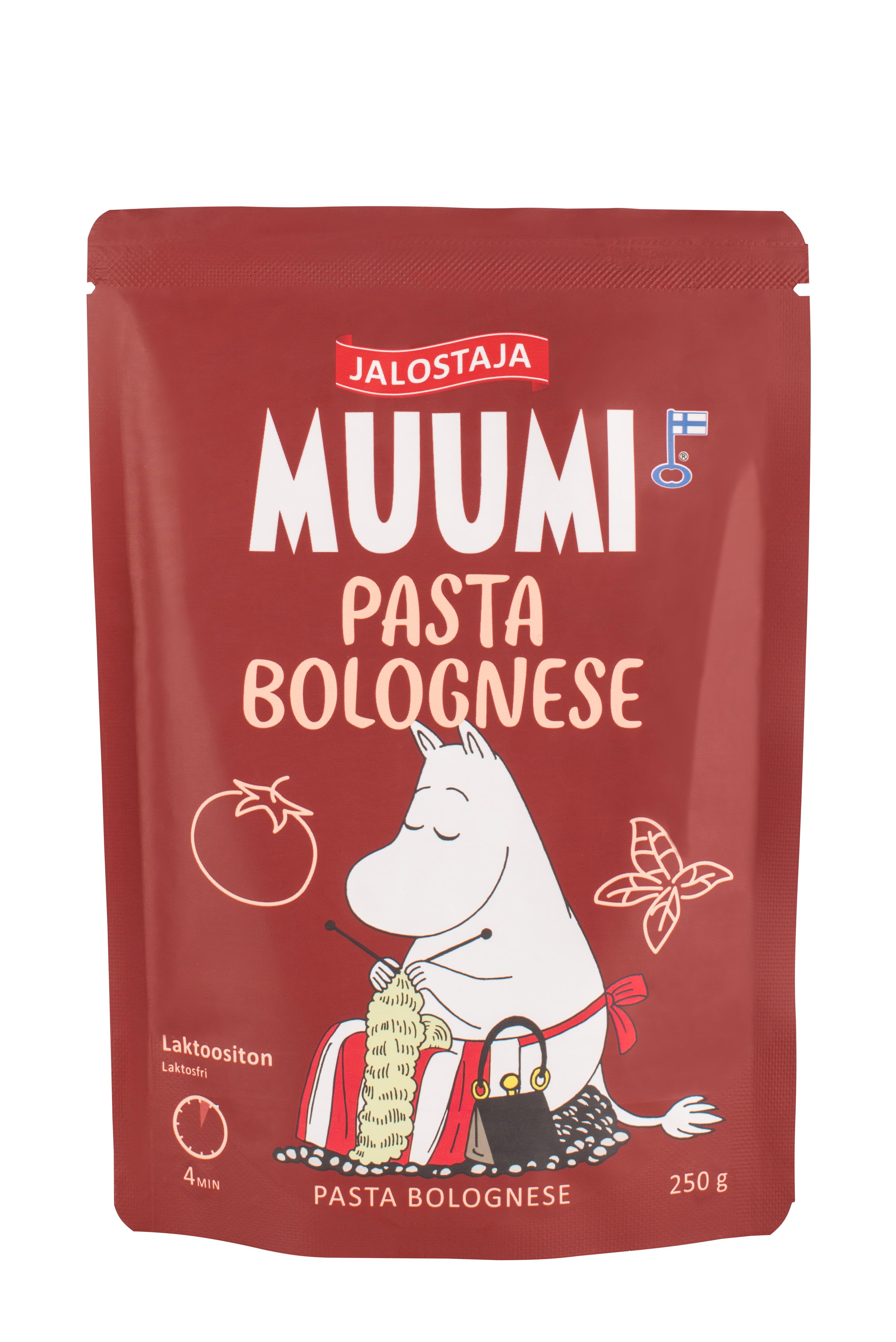 Jalostaja Muumi 250g Pasta Bolognese