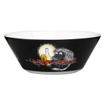 by Arabia Moomin bowl 15cm Ancestor black