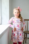 Martinex Moomin WILLYJONK DRESS PINK