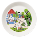 by Arabia Moomin plate 19cm Going on vacation