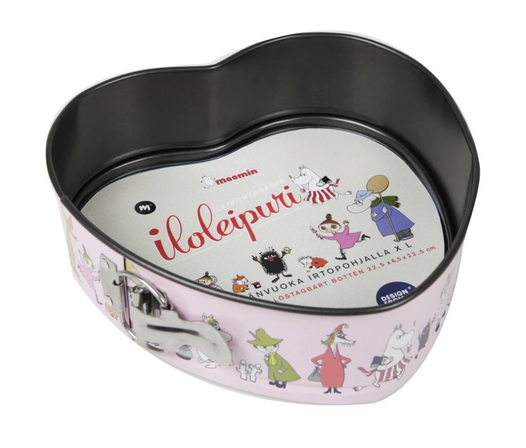 Martinex Moomin heart shaped springform cake pan » Moomin products