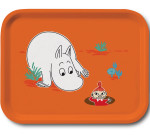 OPTO Tray 27x20 Moomin Orange