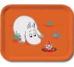 OPTO Tray 27x20 Moomin Orange