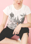 Moomin Toffle's house t-shirt