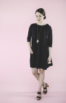 Moomin dress black