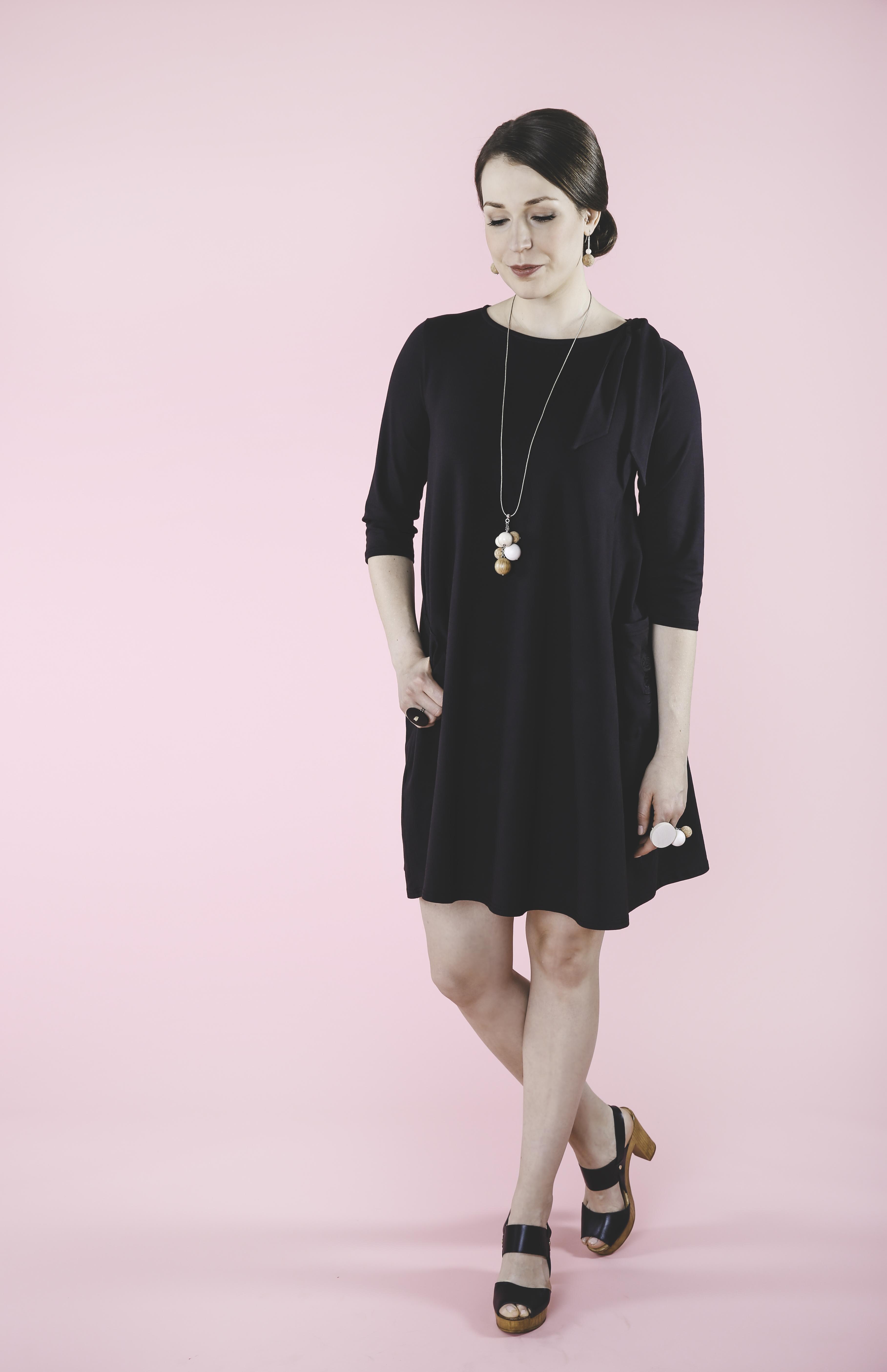 Moomin dress black