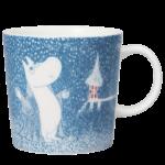 by Arabia Moomin mug 0,3L Light snowfall