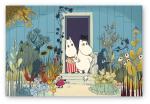 OPTO Poster Moomin Doorstep