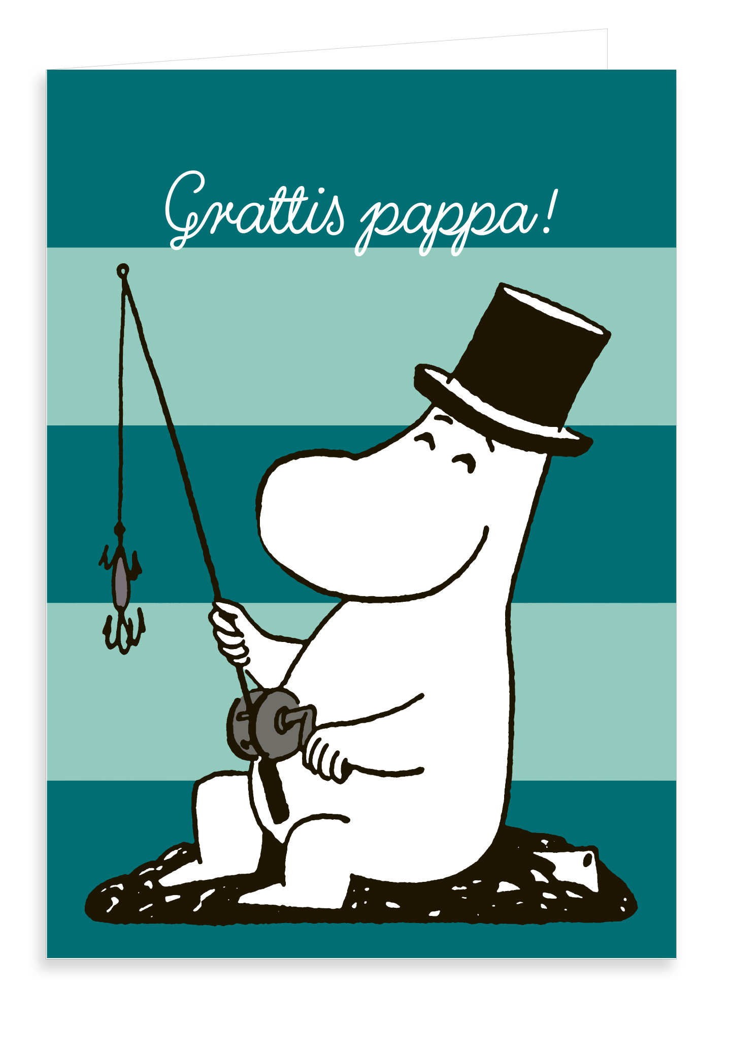 Putinki Greeting Card Father's Day Grattis pappa!