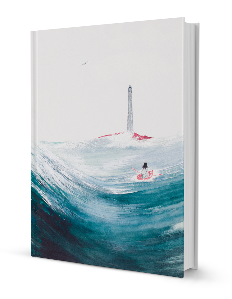 Putinki Hardcover Notebook Moominpappa at Sea