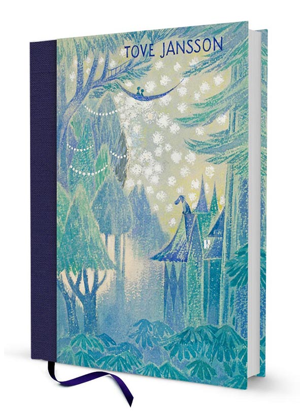 Putinki Hardcover Notebook Tales from Moominvalley