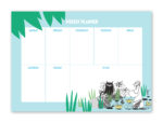 Putinki Weekly Planner Moomin in the Jungle