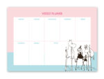 Putinki Weekly Planner Walking on Stilts