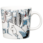 by Arabia Moomin mug 0,3L Snow horse