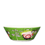 by Arabia Moomin bowl 15cm Thingumy and Bob green