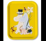 OPTO Tray 27x20 Moomin Easter Yellow