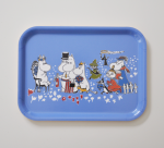 OPTO Tray 27x20 Moomin Birthday Blue