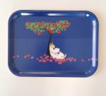 OPTO Tray 27x20 Moomin Apple Tree, Blue