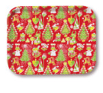 OPTO Tray 27x20 Christmas Pattern