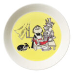 by Arabia Moomin plate 19cm Misabel yellow