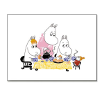 OPTO Table Mat 40x30 Moomin Teaparty