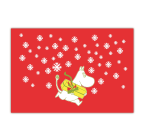 OPTO Table Mat 40x30 Christmas Moomin