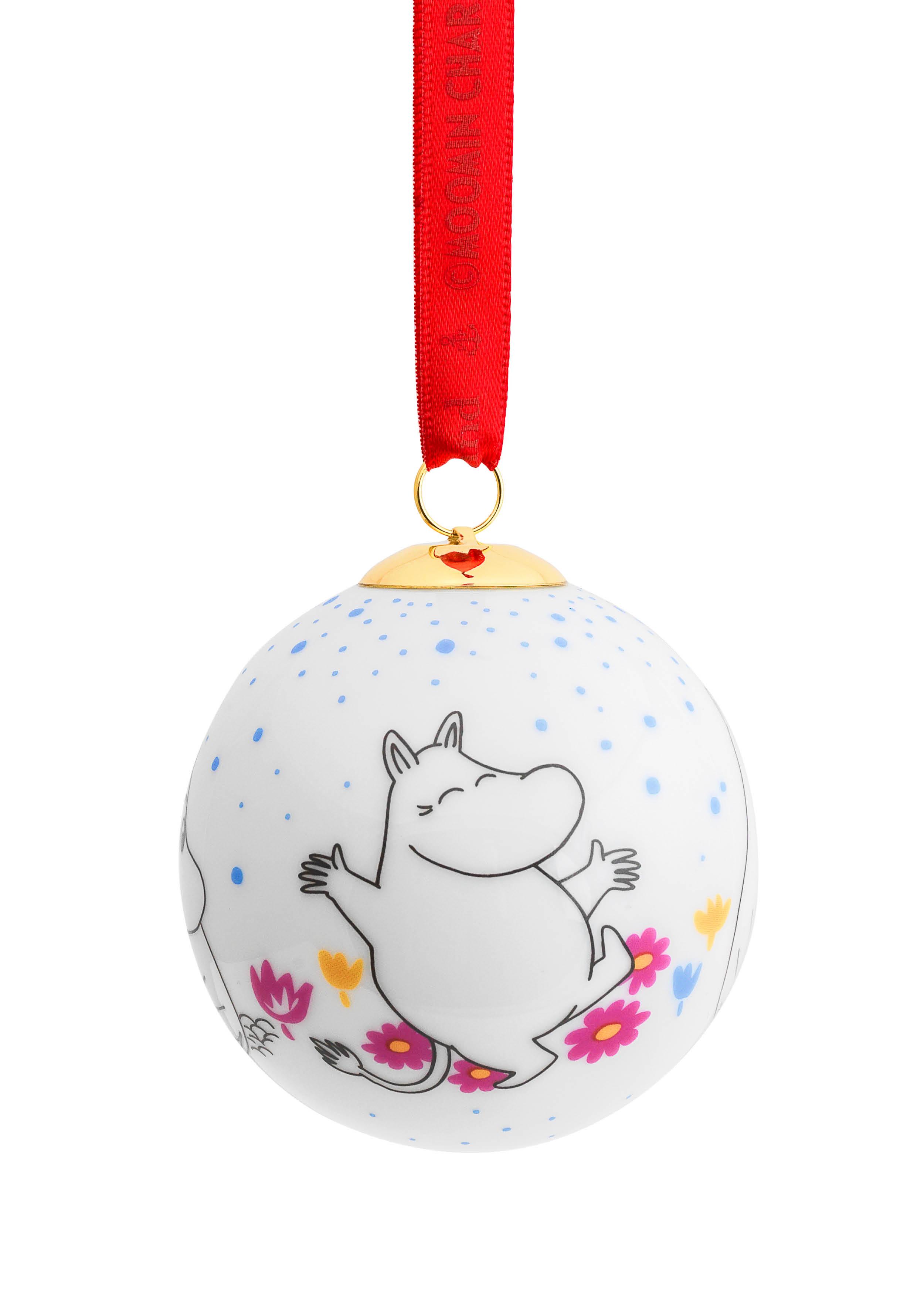 Porsgrund Moomintroll Christmas Ball
