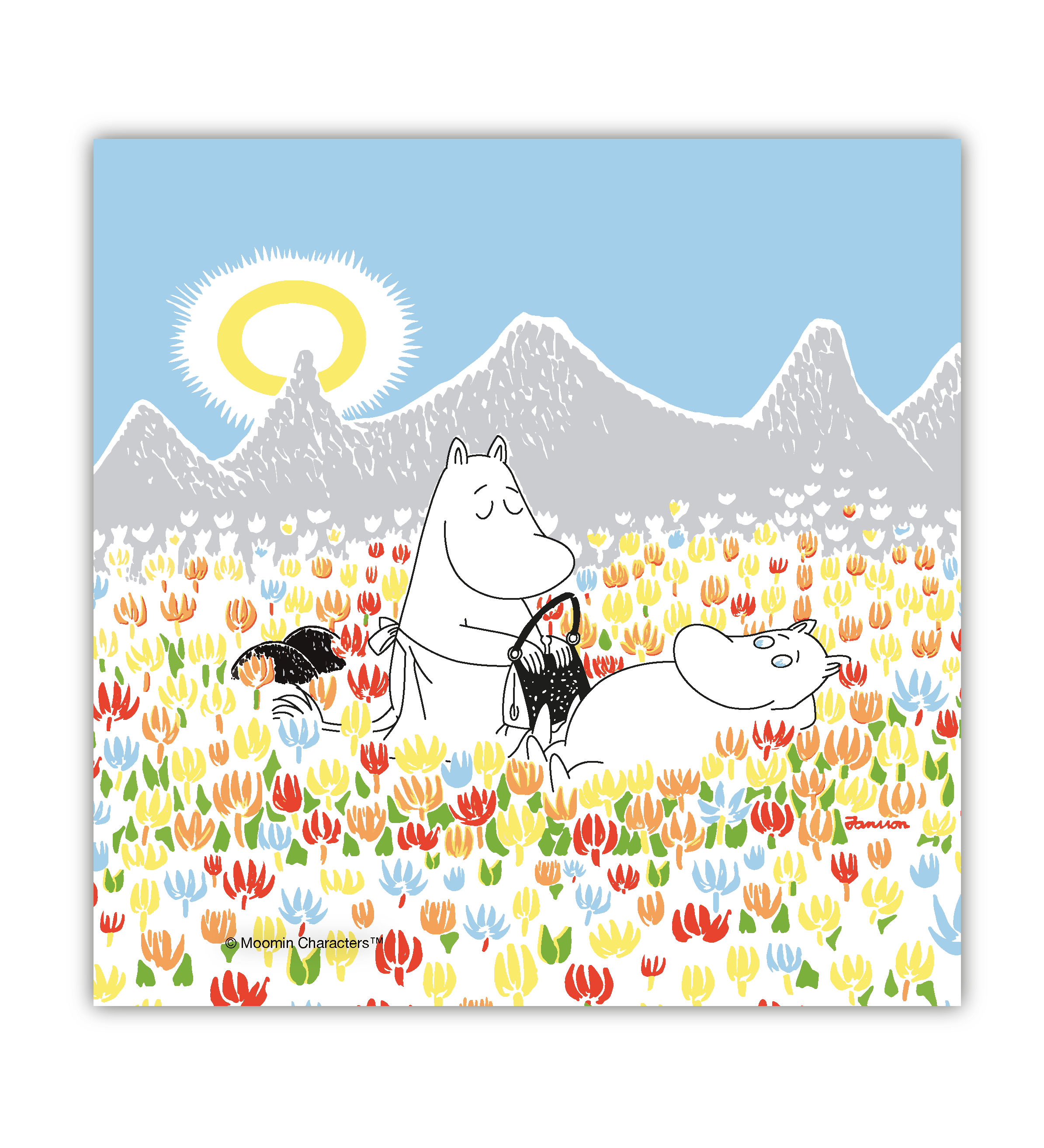 OPTO Napkins Moomin on the Meadow