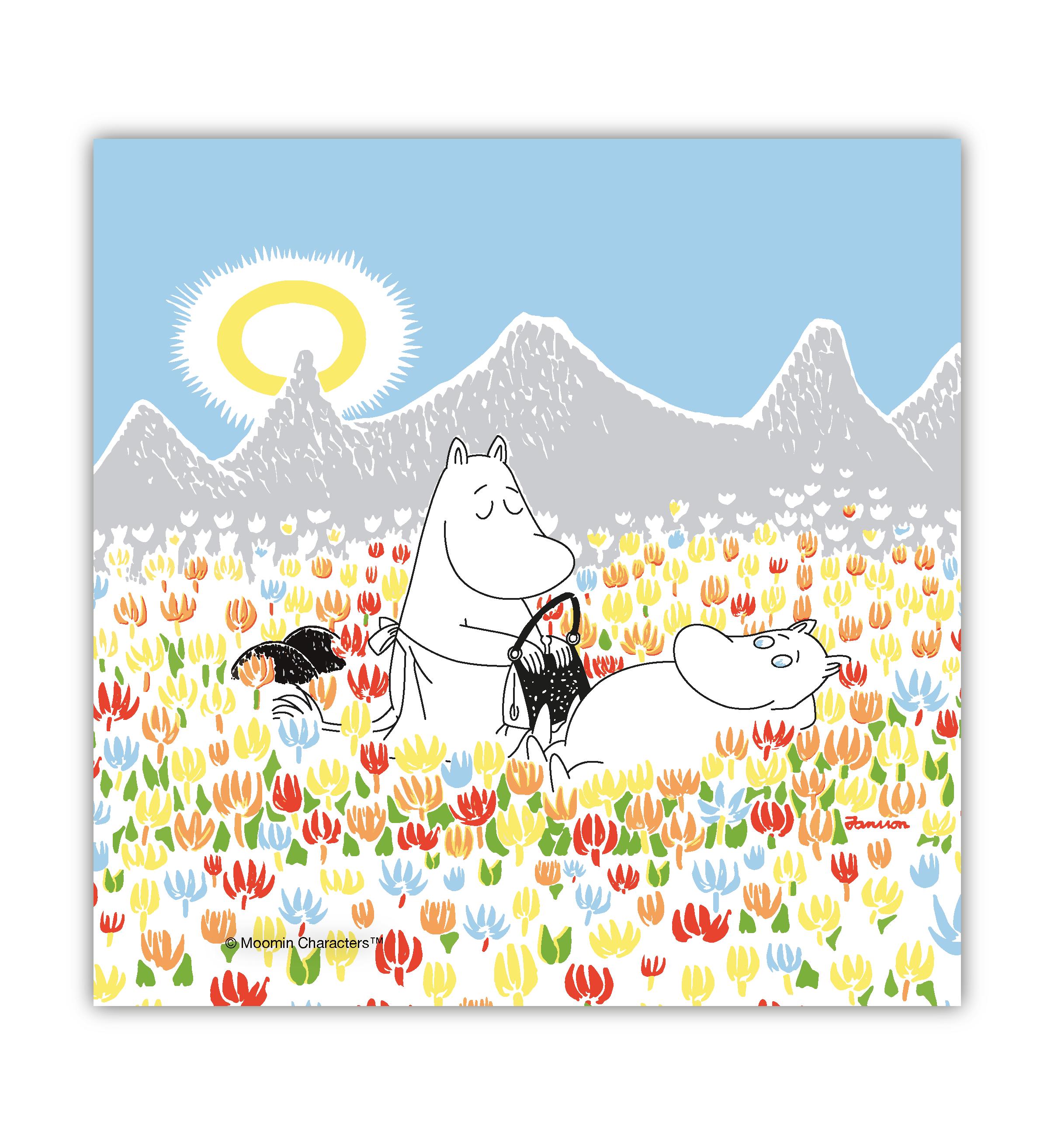 OPTO Napkins Moomin on the Meadow