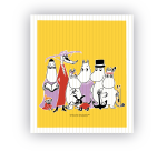 OPTO DISH CLOTH MOOMIN FAMILY