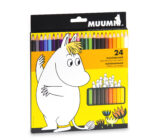 Anglo-Nordic Moomin colouring pencils 24 pcs