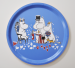OPTO Tray Ø31 Moomin Birthday Blue