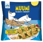 Chipsters Moomin fish buttons 200 g