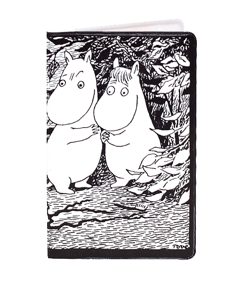 Popomax Handy Holder Moomin black/white