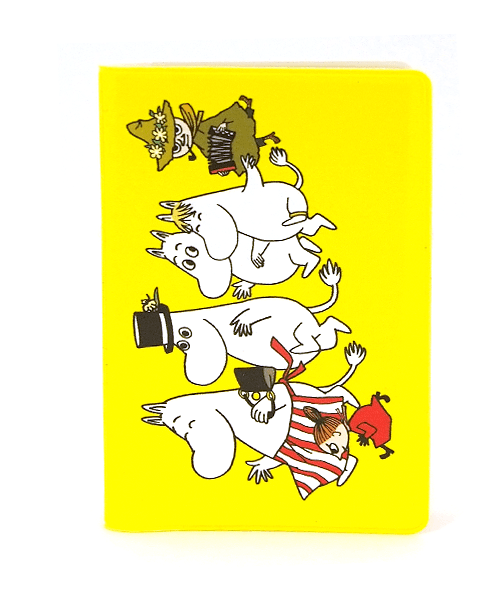 Popomax Handy Holder Moomin Yellow