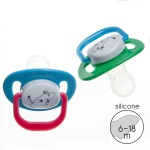 Rätt Start ORTHODONTIC PACIFIER, 6-18M, 2-PAC, MUMIN