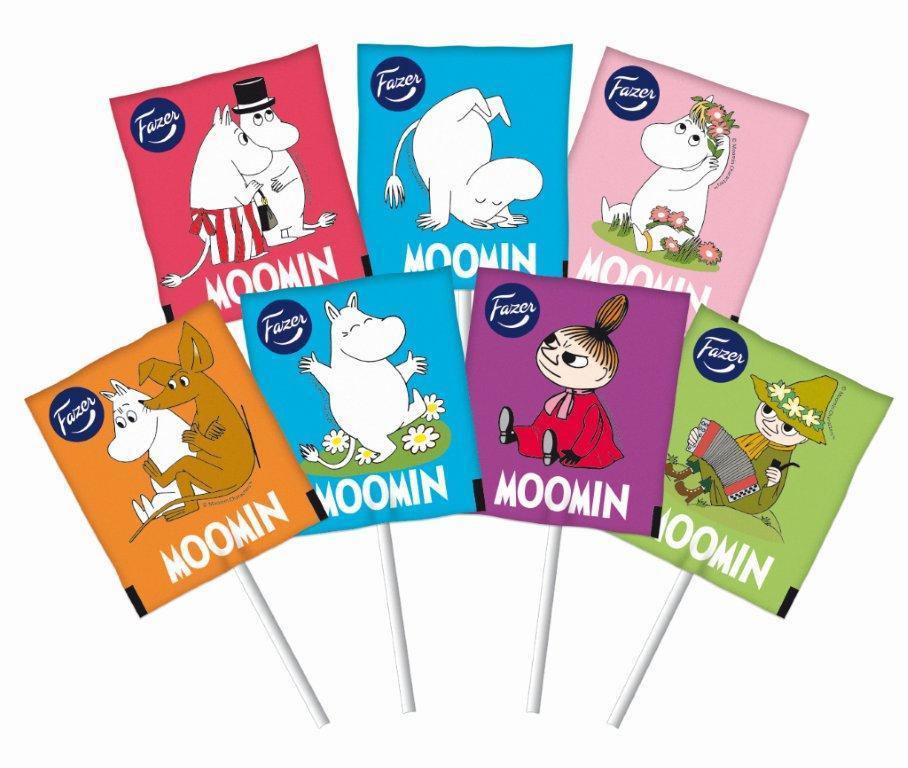 Fazer Moomin lollipops 8 g