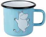 Muurla enamel mug 2,5dl Retro Moomin
