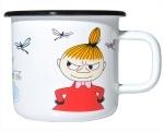 Muurla enamel mug 3,7dl Colors Little My