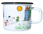 Muurla enamel mug 3,7dl Colors Moominvalley