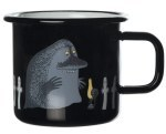 Muurla Retro enamel mug the Groke and Hattifatternes 3,7dl