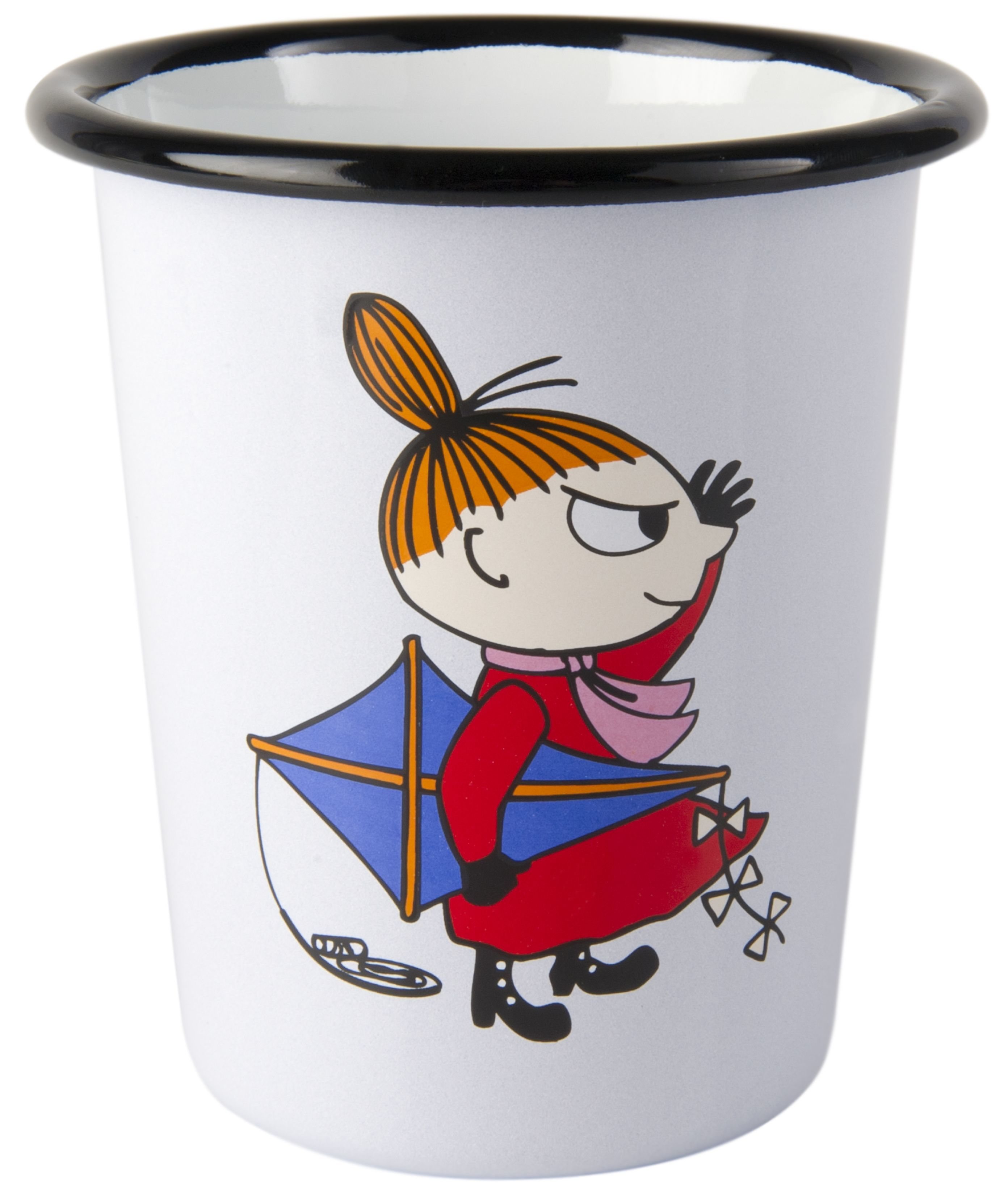 Muurla enamel tumbler 4dl Retro Little My