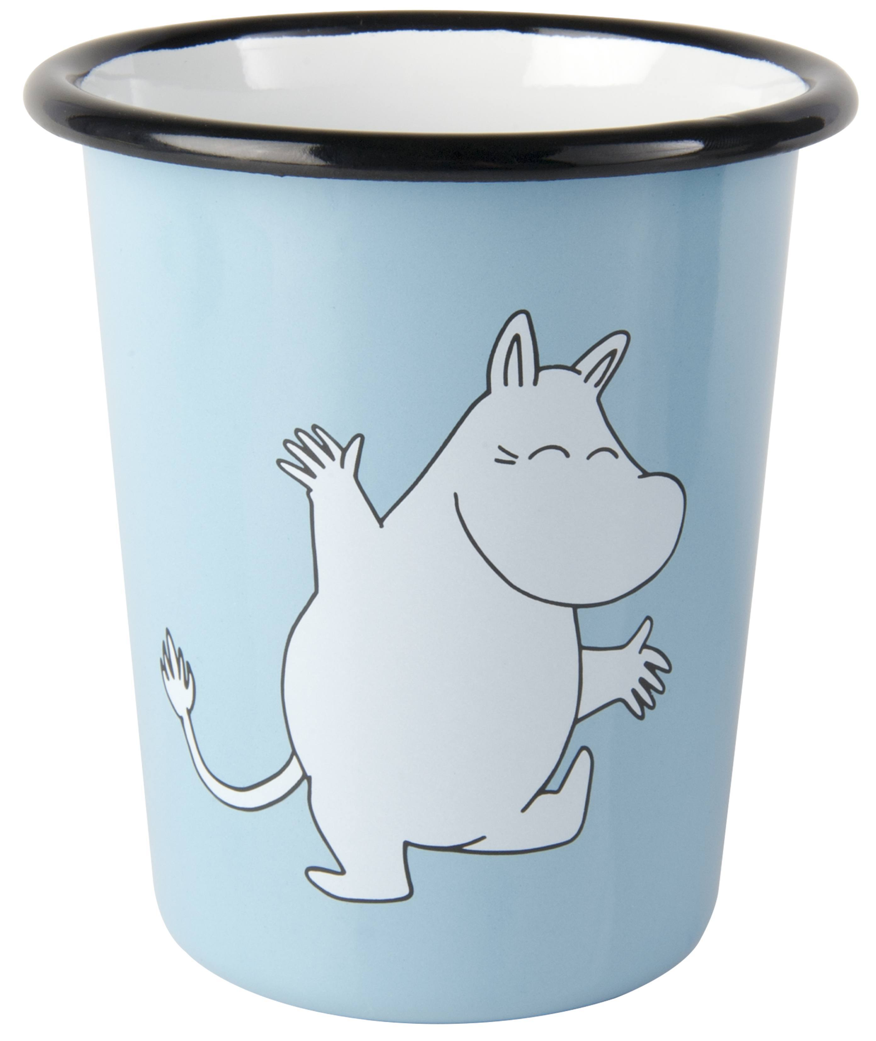 Muurla enamel tumbler 4dl Retro Moomin
