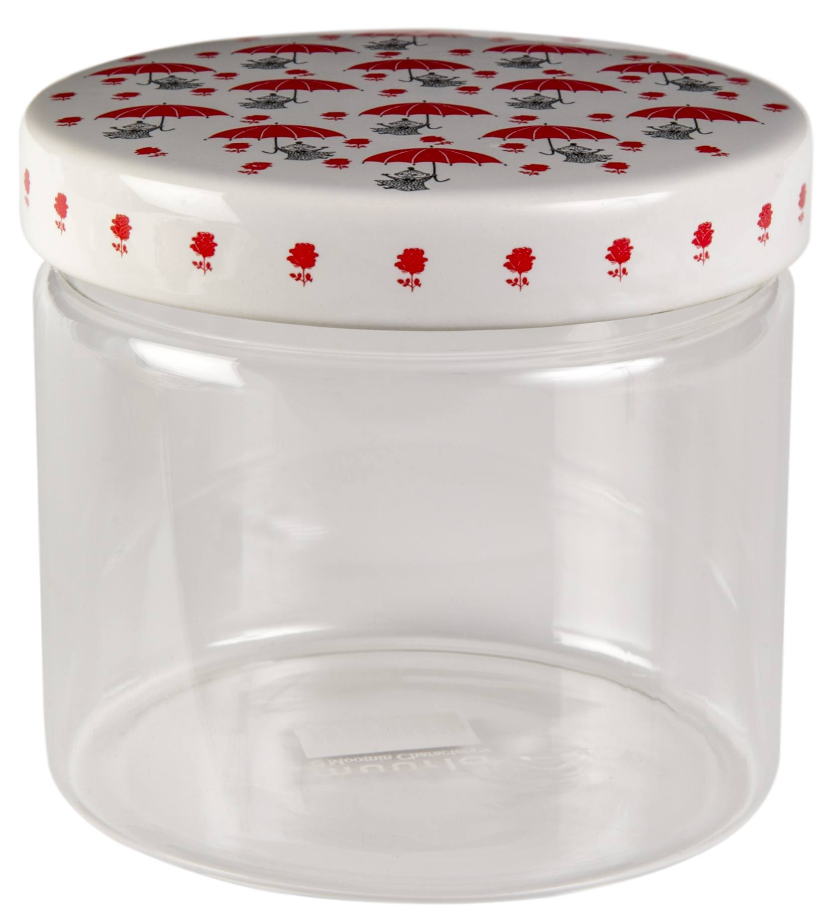 Muurla glass jar 11cm Little My
