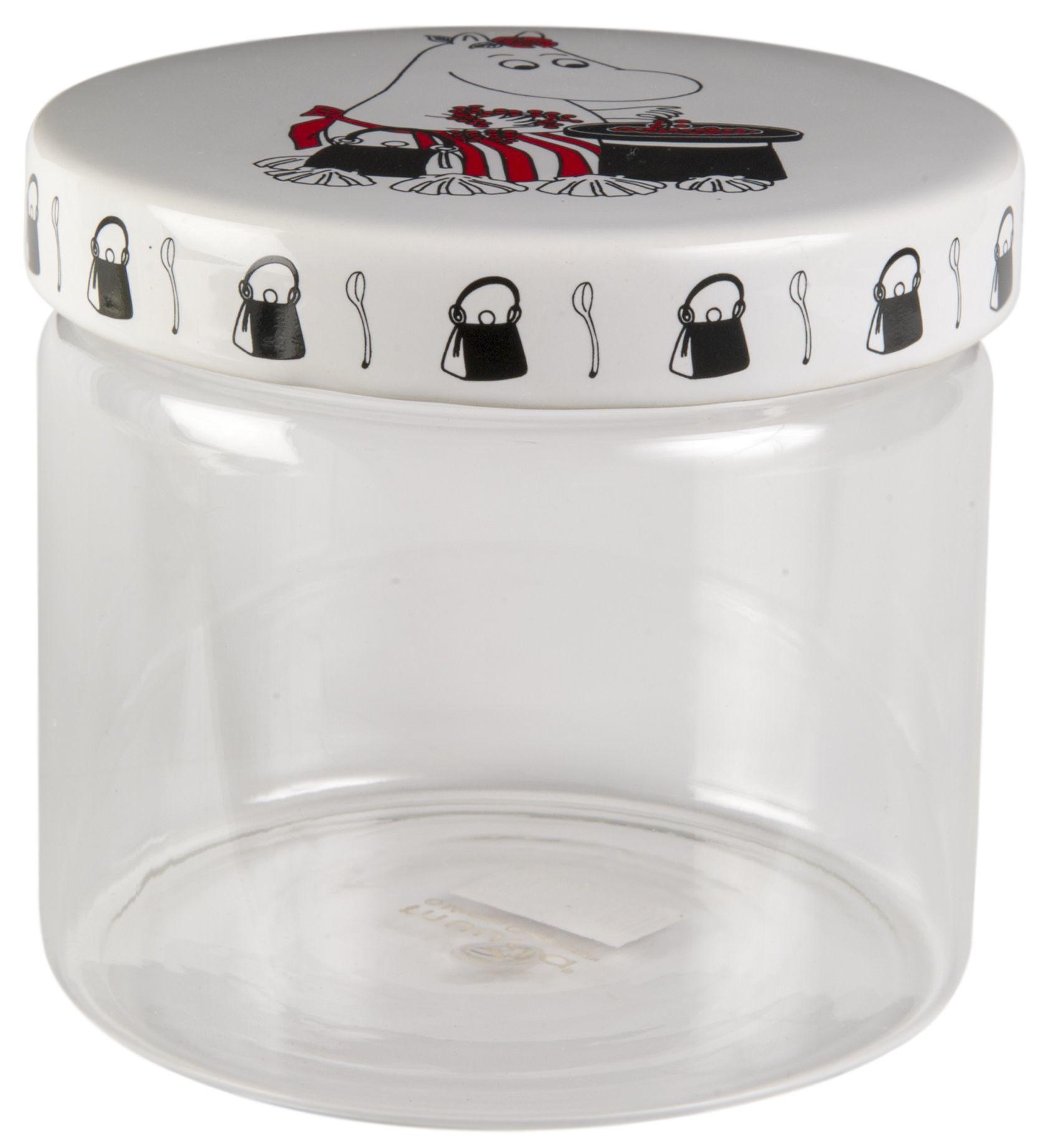 Muurla glass jar 11cm Moominmamma