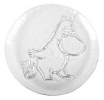 Muurla glass plate 19cm Moomin