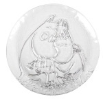 Muurla glass plate 19cm Together Forever