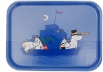 Opto tray 27*20 Moomin boat in night